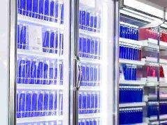 自携式冷藏玻璃门陈列柜(下置机组)