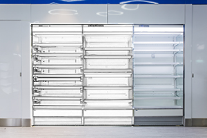 <b>标准型分体式冷藏立风柜</b>