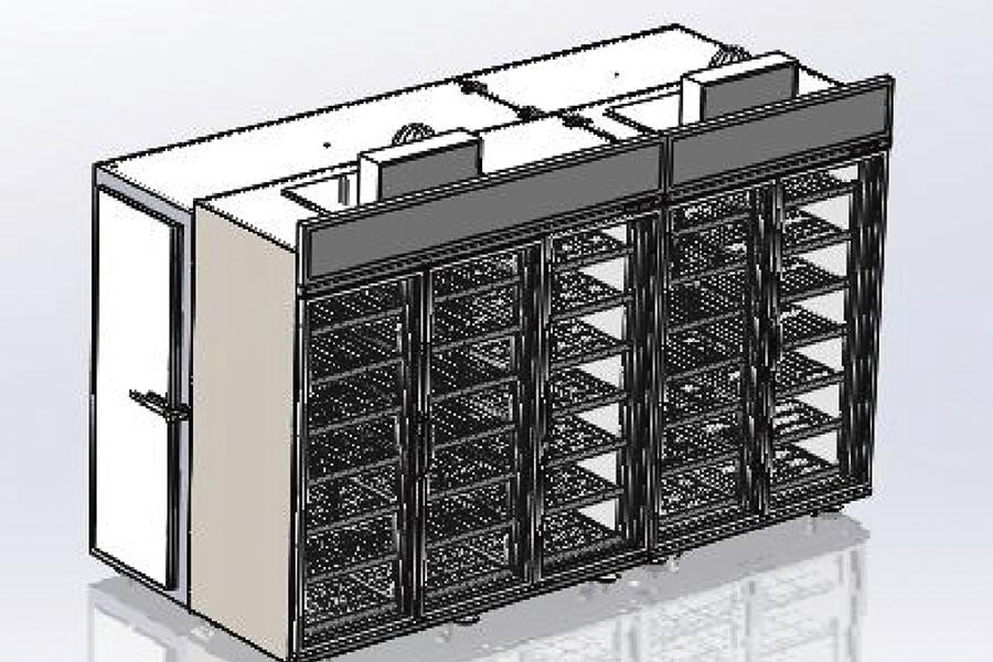 模块式后补式冷库